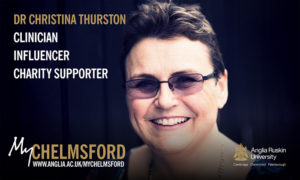 My Chelmsford Anglia Ruskin University Dr Christina Thurston