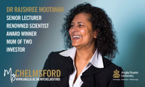 My Chelmsford Anglia Ruskin University Dr Rajshree Mootanah