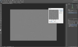 Wet plate collodion effect in Photoshop tutorial step 1