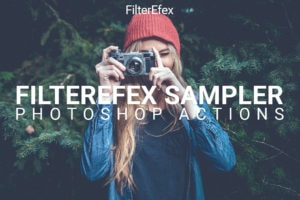 PixelEfex Sampler free Photoshop Actions