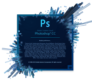 Photoshop CC welcome screen