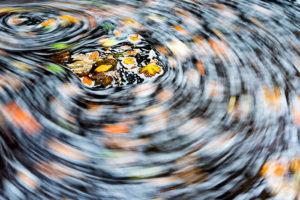 Autumn Swirl at Padley Gorge