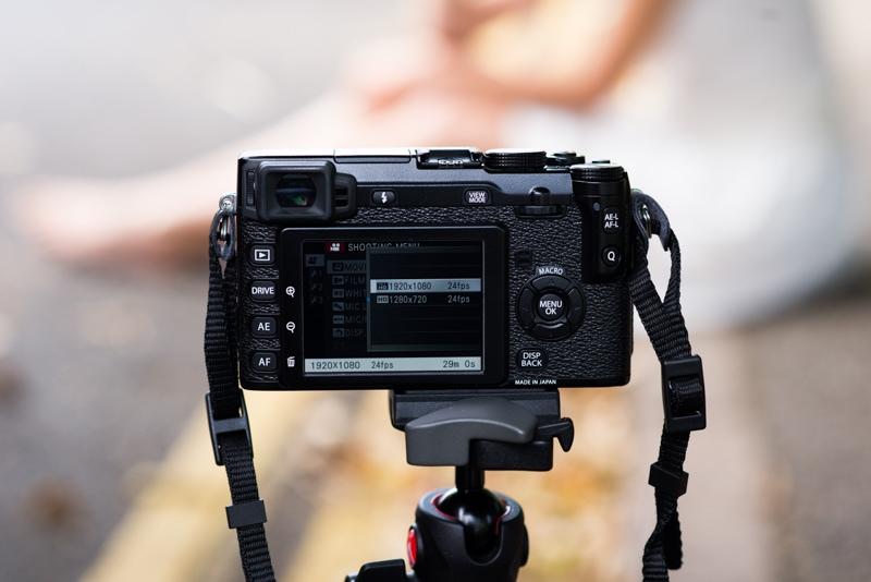Shooting cinemagraphs step 1 video settings