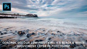 Control colour luminosity in Photoshop