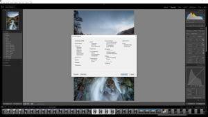 Focus stacking editing step 1