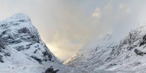 Glen Coe Pass Panoramic