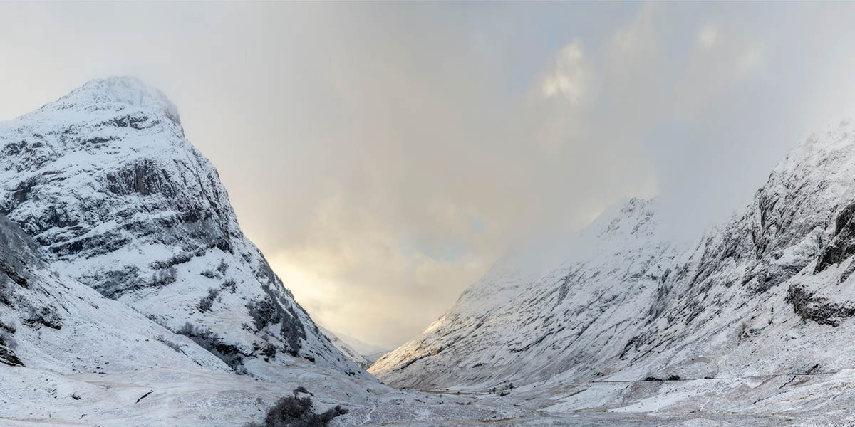 Glen Coe Pass Panoramic