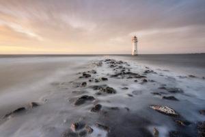 New Brighton Lighthouse at New Brighton Beach