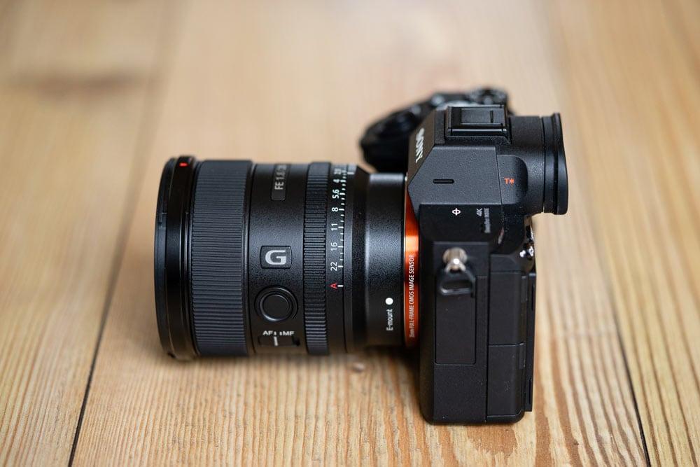 Sony FE 20mm f/1.8 on the Sony Alpha A7RIII