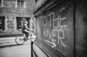 Cambridge street photography shot on the Leica M10 Monchrom