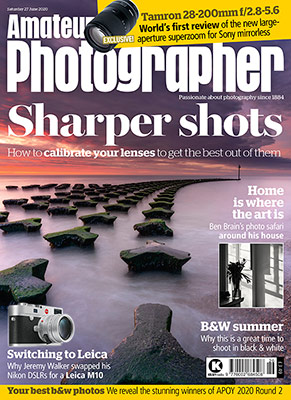 Amateur Photographer magazine cover 27 June 2020