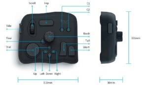 Tourbox controller for photoshop and Lightroom