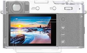 JJC Tempered Glass Screen Protector for Fujifilm X100V