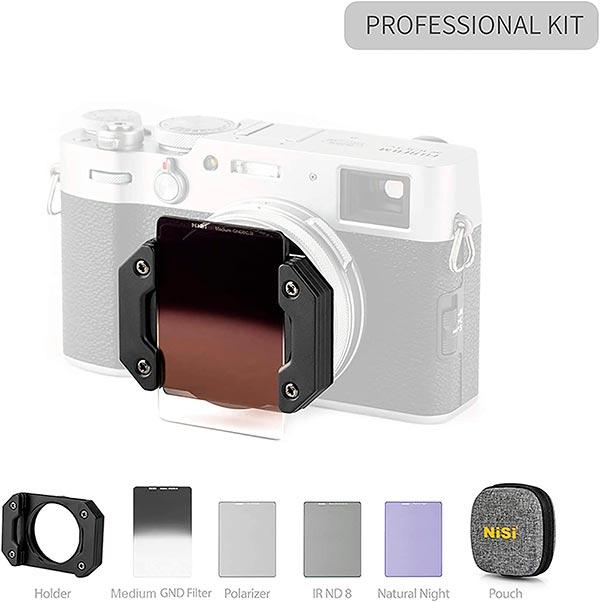 NiSi Filter Kit FUJI X100 Series - Professional Kit