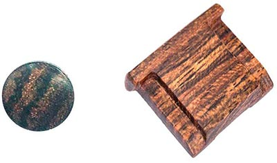 Wood Soft Release button & Wood Hotshoe Cover