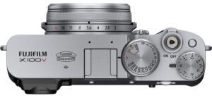 Fujifilm X100V top view