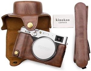 Muziri Kinokoo PU Leather Case for Fujifilm X100V