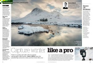 Amateur Photographer magazine 2 January 2021 winter landscapes