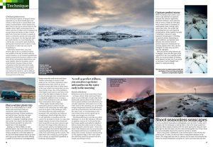 Amateur Photographer magazine 2 January 2021 winter landscapes