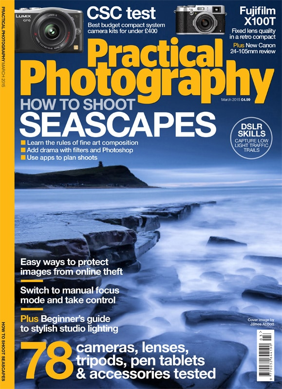 Practical Photography cover March 2015