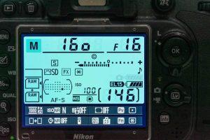 Silhouette portraits camera settings