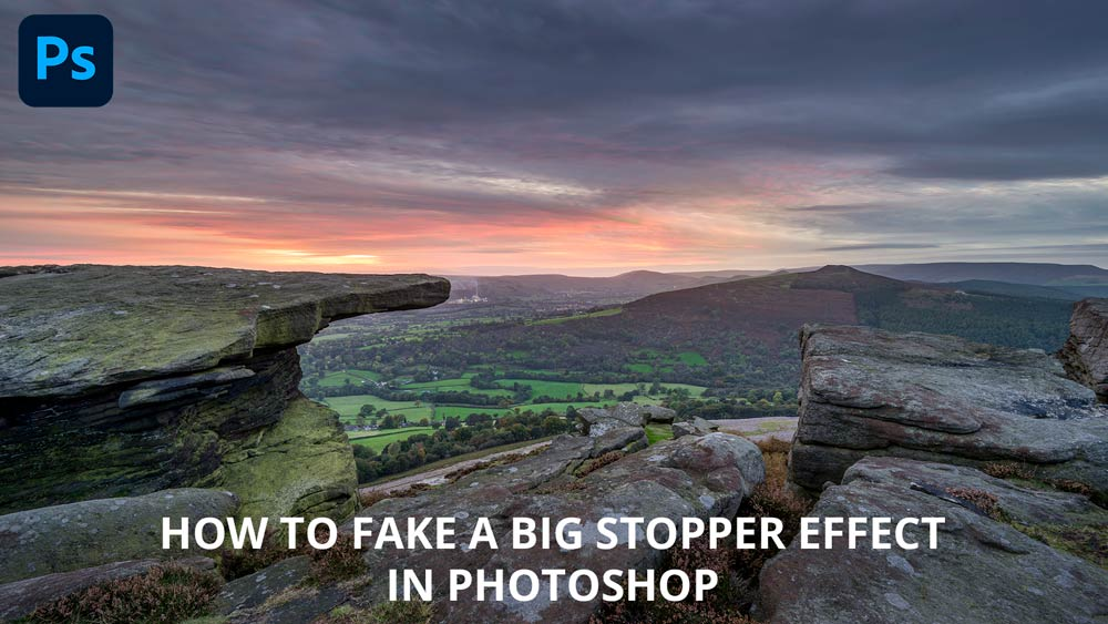 How to fake a big stopper or ND filter long exposure effect in Photoshop