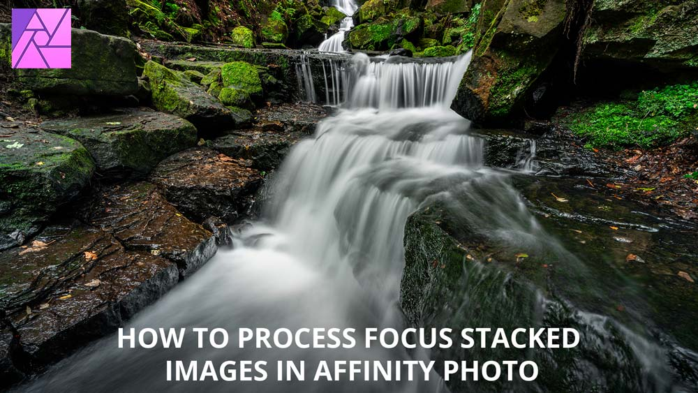How to focus stack images in Affinity Photo