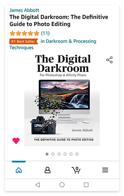 The Digital Darkroom: The Definitive Guide to Photo Editing Amazon best seller
